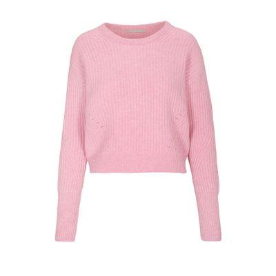 Cropped-Pullover - Blossom Melange