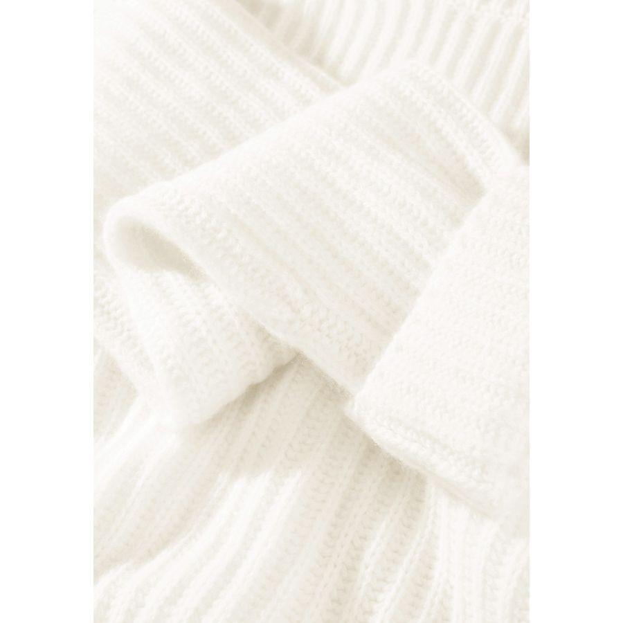 Stehkragenpullover - Ivory