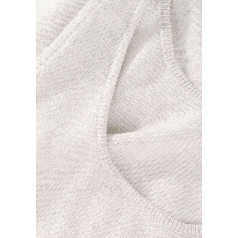 Cashmere Top - Sand Melange