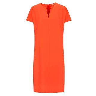 Kleid mit Tunika-Ausschnitt