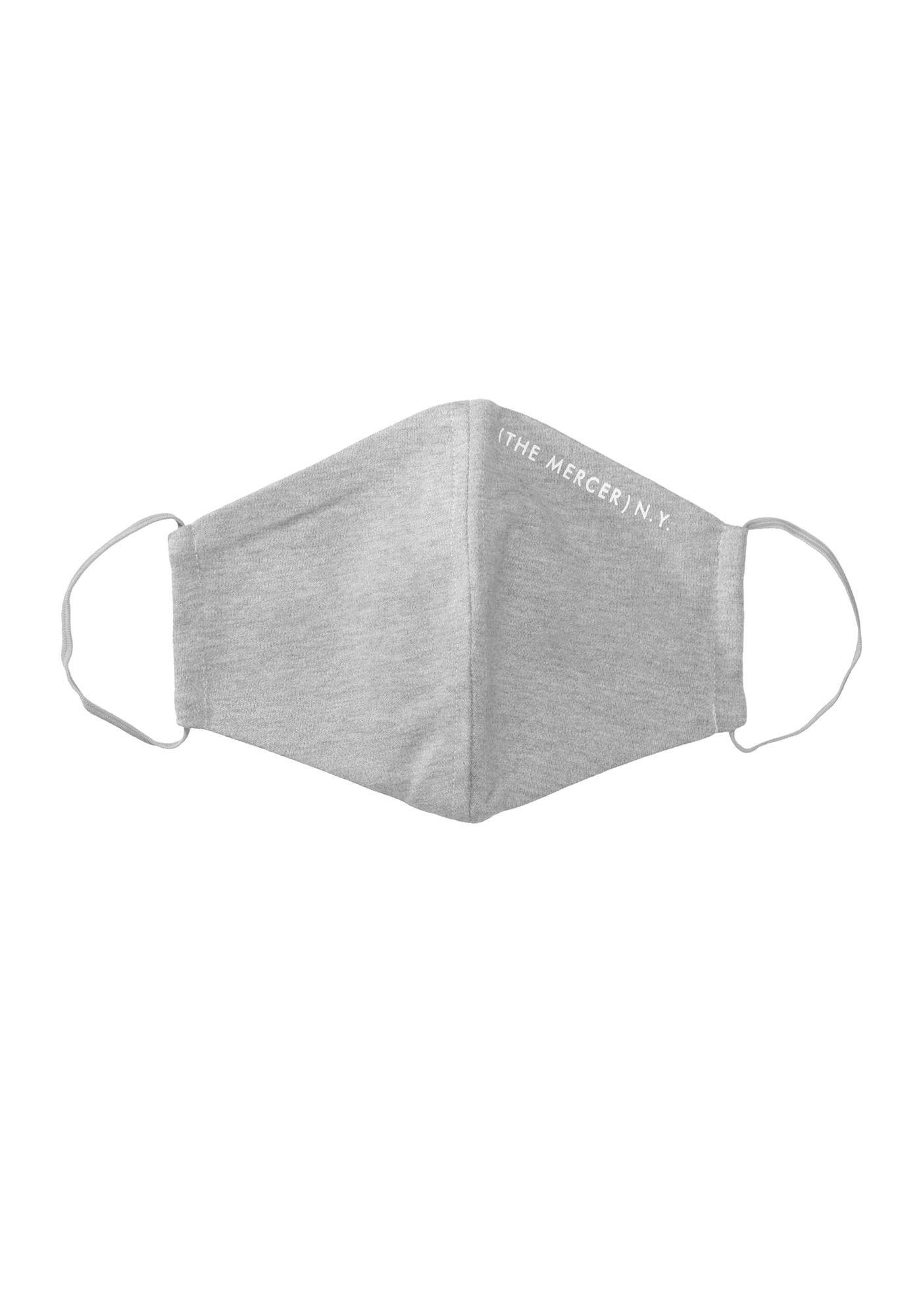 Maske in Einheitsgröße - Silver Melange