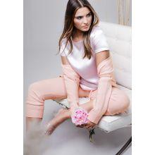Cashmere Pant - Rose Melange