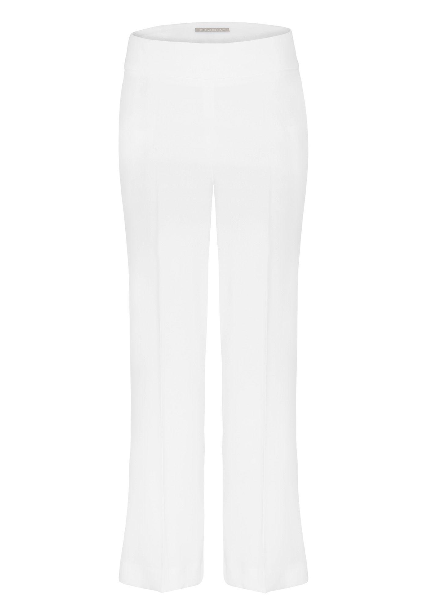 Culotte mit Bügelfalten - Ivory