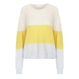 Pullover mit Colour-Blocking