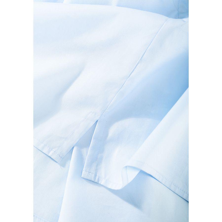 Blusen-Top mit elastischem Ärmelsaum