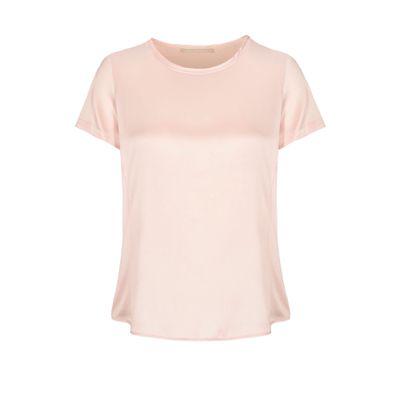 Satin Silk Shirt - Rose