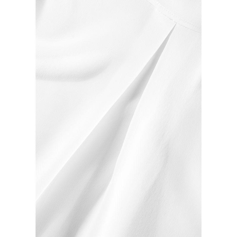 Hemdbluse mit Kellerfalte auf der Rückseite - Ivory