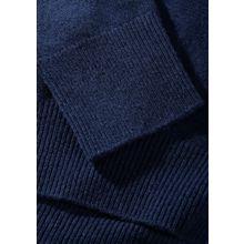 Pullover mit breiten Rippbündchen