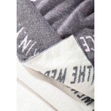 Cashmere-Schal mit Label-Wording