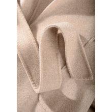 Doubleface Coat mit offener Silhouette - Greige