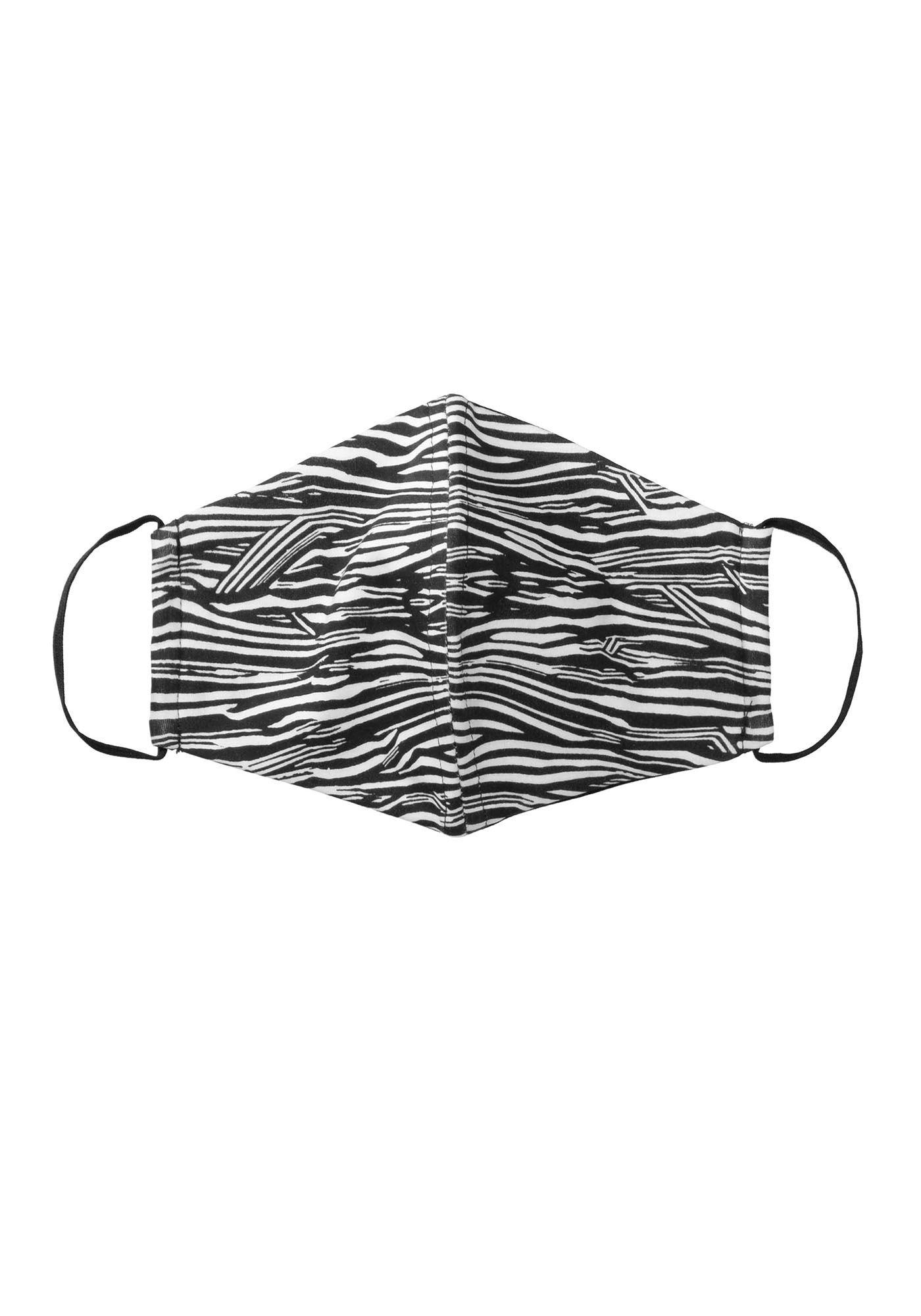 Maske in Einheitsgröße - Zebra