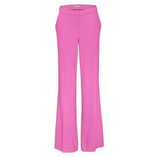 Trousers mit geradem Bein - Magnolia