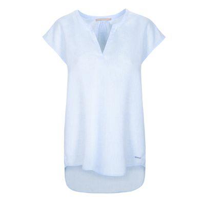 Oversize-Shirt aus Leinen