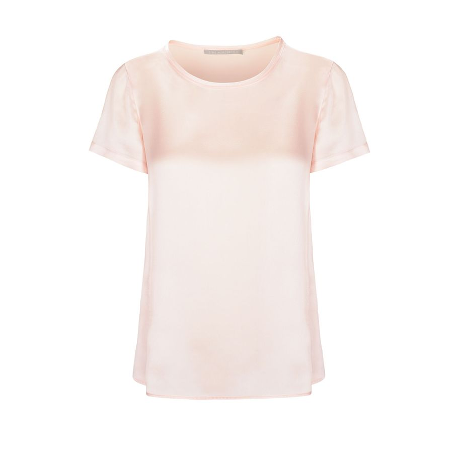 Satin Silk Shirt - Bellini