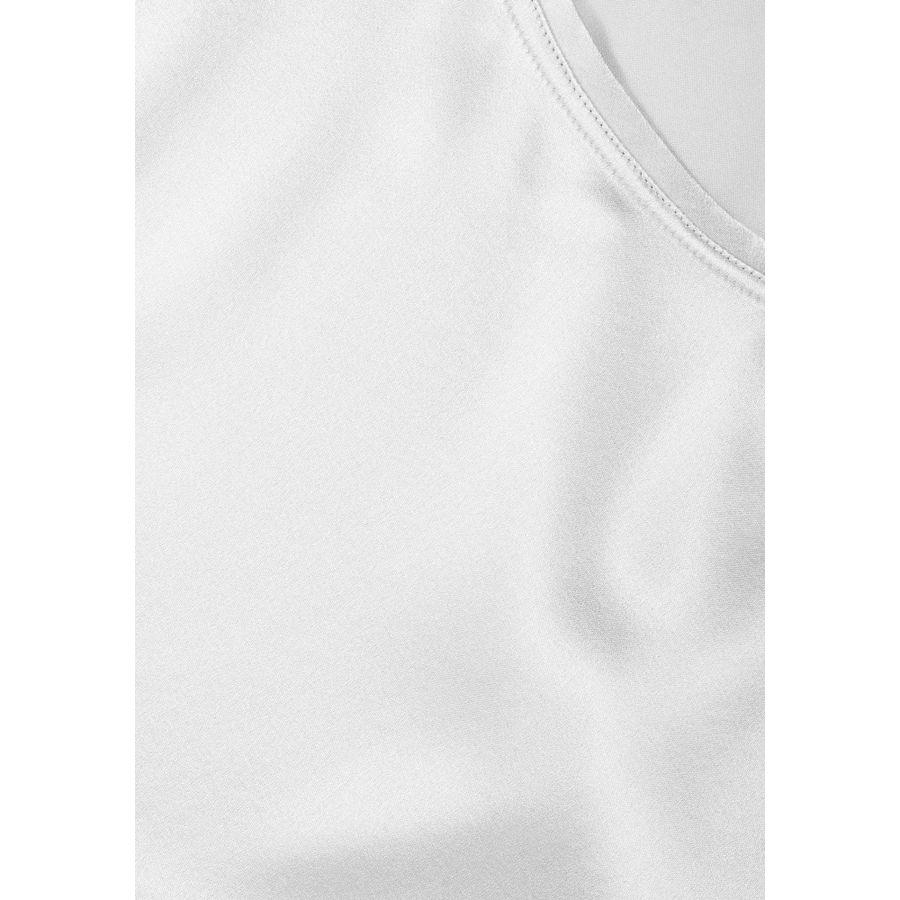 Satin Silk Shirt - Silver